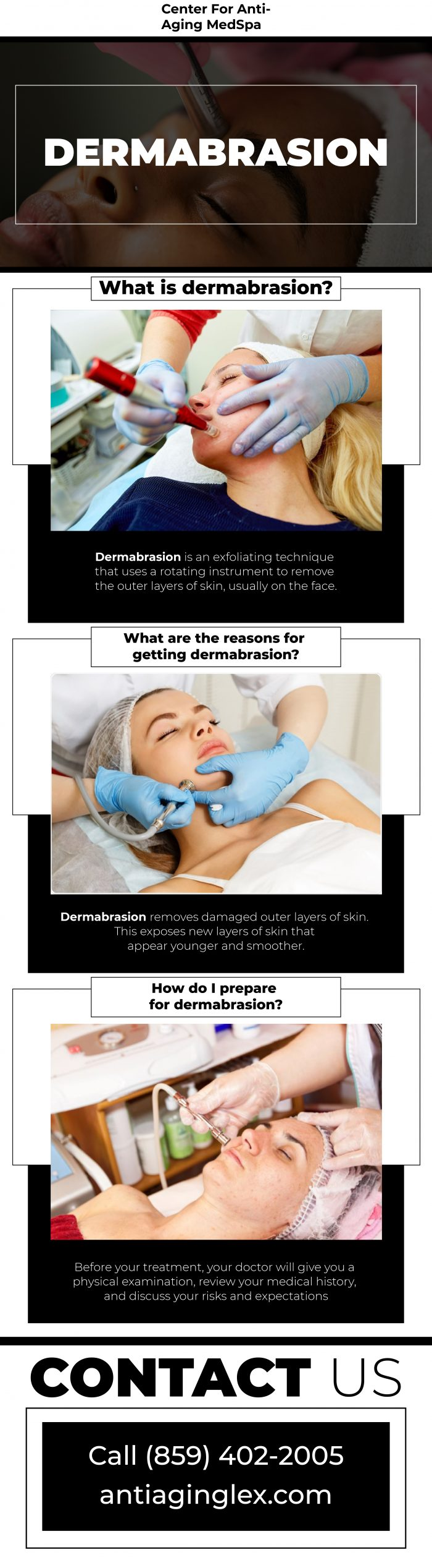 Best dermabrasion treatment at Anti-Aging Medical Spa