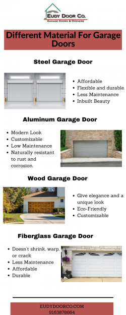Different Material For Garage Doors