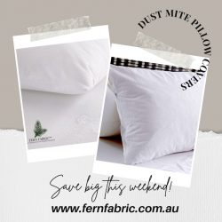 Dust mite pillow covers