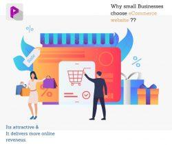 E-commerce development for small business.