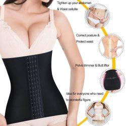 ELEADY Postpartum Belly Wrap Waist Trainer Recovery Support Pelvis Belt