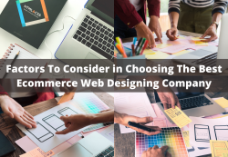 Factors To Consider in Choosing The Best Ecommerce Web Designing Company