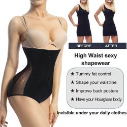 ELEADY Women Hi-Waist Seamless Body Shaper Butt Lifter