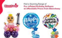 Find a Stunning Range of Pre-inflated Birthday Balloons at Affordable Prices from BloonAway