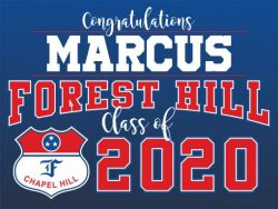 Custom and Personalized Graduation Yard Signs