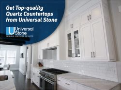 Get Top-quality Quartz Countertops from Universal Stone