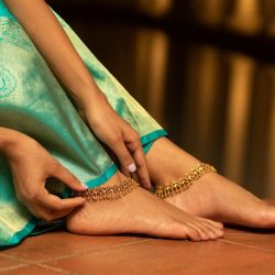 Buy wonderful anklets designs from Tarinika Jewelry