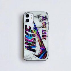 NIKE iPhone 12/12Proガラスケース メンズ ブランド ナイキ アイフォン12Pro Max/12mini携帯カバー