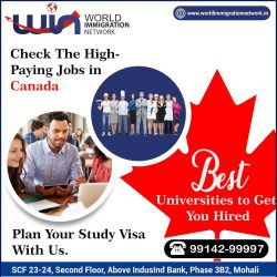 Check the High Paying Jobs in Canada