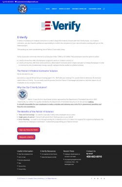 Federal contractor solutions