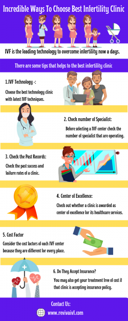 Incredible ways to choose best infertility clinic