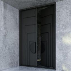 Contemporary Double Front Doors | Zen Doors