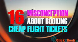 16 Misconception About Booking Cheap Flight Tickets