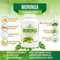 Moringa Fields LLC Provides Moringa Capsules