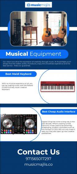 Best musical equipment in Dubai – MusicMajlis
