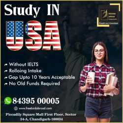 Apply For USA Study Visa – With / Without – IELTS /PTE