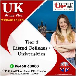 UK Study Visa With Top Ranking Tier 4 Colleges
