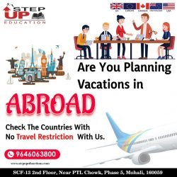 Plan For Study Abroad With Stepup Education