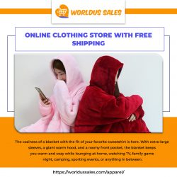 Online Clothing Store with Free Shipping – World U.S. Sales