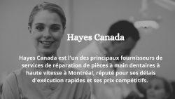Réparation de pièces à main Montreal