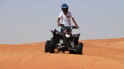 Experience quad biking in Dubai, quad Dubai