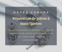 Réparation de pièces à main Quebec