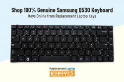 Shop 100% Genuine Samsung Q530 Keyboard Keys Online from Replacement Laptop Keys