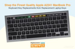 Shop the Finest Quality Apple A2241 MacBook Pro Keyboard Key Replacements from Replacement Lapto ...