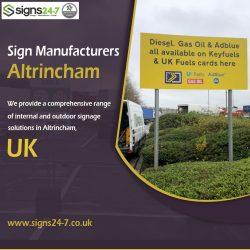 Sign Manufacturers Altrincham