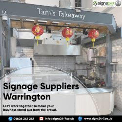 Signage Suppliers Warrington