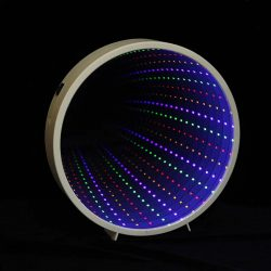 TUNNEL MIRROR DECORATIONS STRING LIGHT