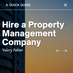 Valery Peltier – Hire a Property Manager