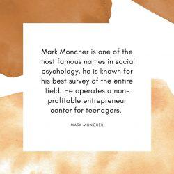 Mark Moncher is a Entrepreneur & Psychologist