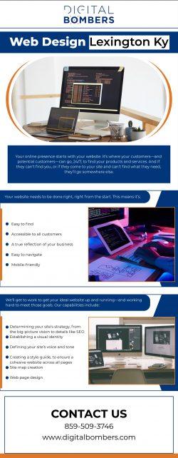 Top Most Web Design Company in Lexington KY | Digital Bombers