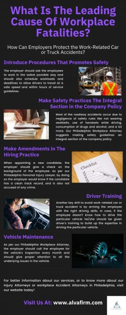 What Is The Leading Cause Of Workplace Fatalities