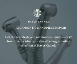 Endodontic Handpiece Repair at Hayes Canada