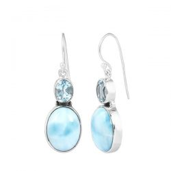 Wholesale sterling silver larimar jewelry