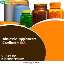 Wholesale Supplements Distributors USA