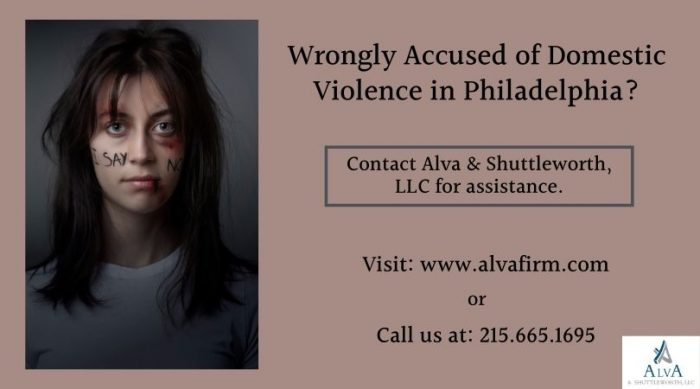 Wrongly Accused of Domestic Violence in Philadelphia?
