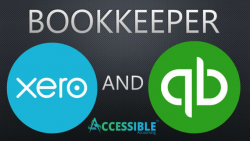 Xero and Quickbooks Bookkeeper-Accessible Accounting