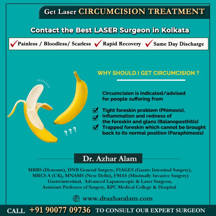 Varicose Veins Treatment in Kolkata | Laser Circumcision Doctor in Kolkata