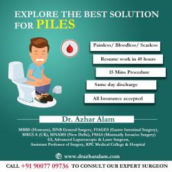 Best Laser Surgeon in Kolkata | Laparoscopic Surgeon | Dr. Azhar Alam