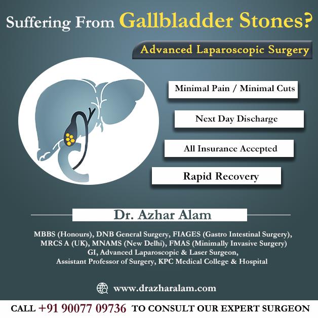 Best Laparoscopic Surgeon in Kolkata   Gallbladder Stones Treatment
