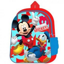 DISNEY MICKEY MOUSE BACKPACK WITH MESH SIDE POCKET – QA2483 WH
