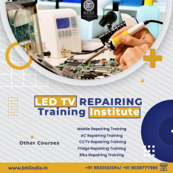 TV Training Institute in Kolkata | Mobile Repairing Training | BTTI