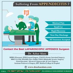 APPENDIX Doctor in Kolkata | Best APPENDIX Surgeon | Dr. Azhar Alam