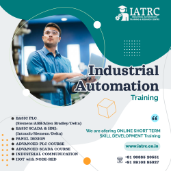 Industrial Automation Training | PLC SCADA Training in Kolkata | IATRC