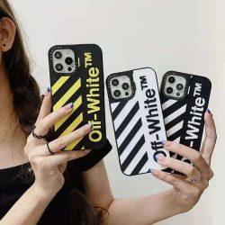 メンズ向け オフホワイト アイフォン13/13Pro/13Pro Maxケース かっこいい OFF-WHITE iPhone 12/12Pro/ ...