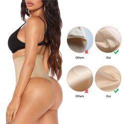 Eleady Seamless Thong Tummy Control Slimmer Panty
