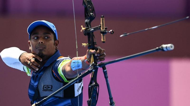 Atanu Das reaches Olympic archery pre-quarterfinals